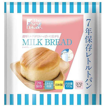 7年保存レトルトパン ミルクブレッド